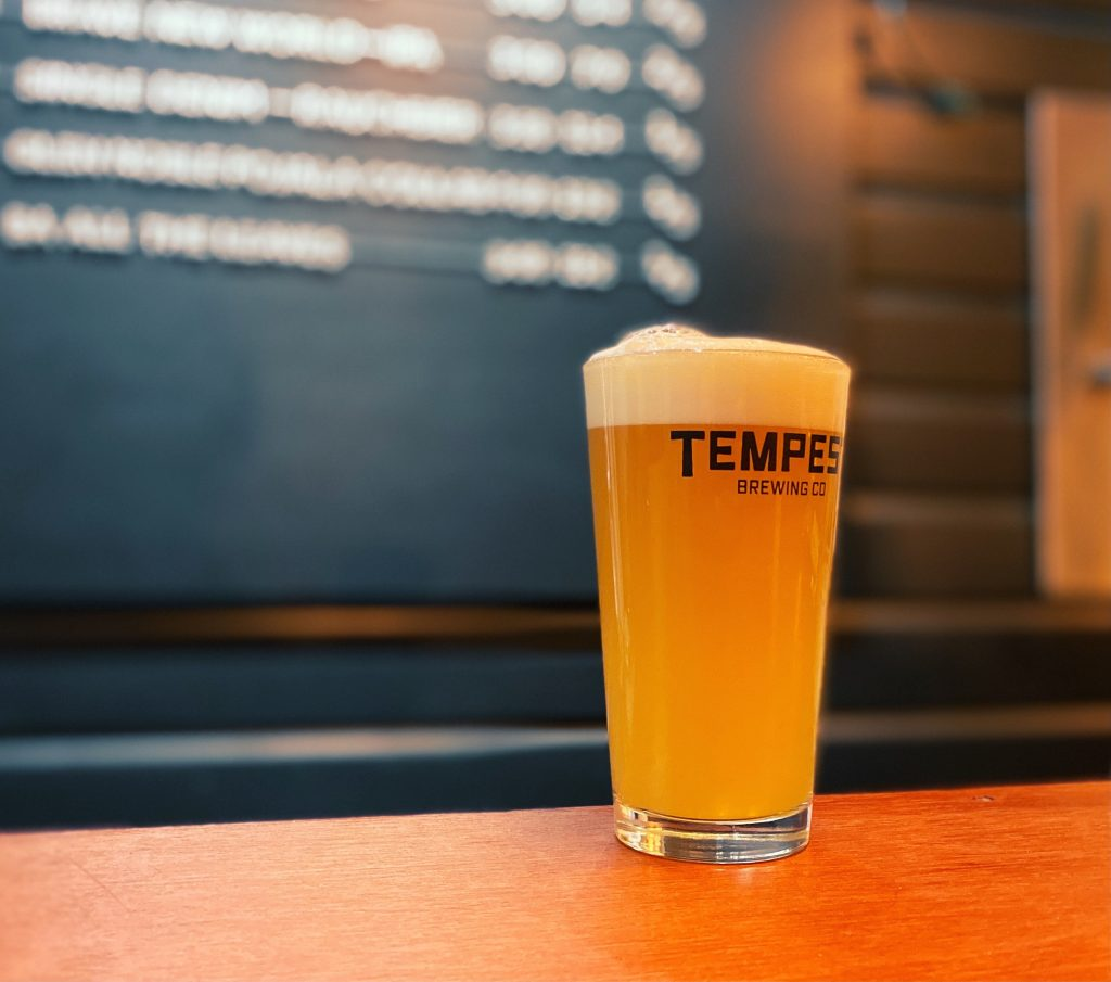 West Coast IPA Tempest Brewery